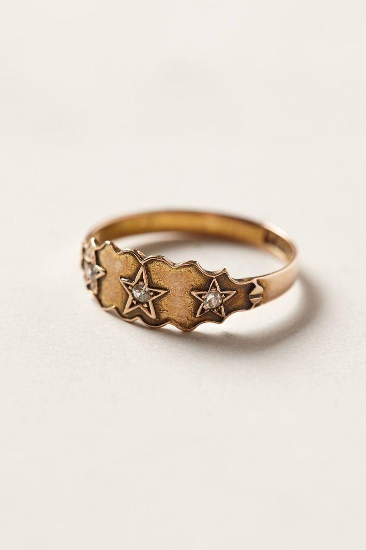 Western Gypsy Diamond Ring