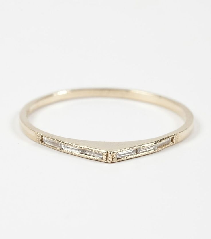 catbird :: Bateau Ring  As a wedding band, this is simple and elegant. I like it...