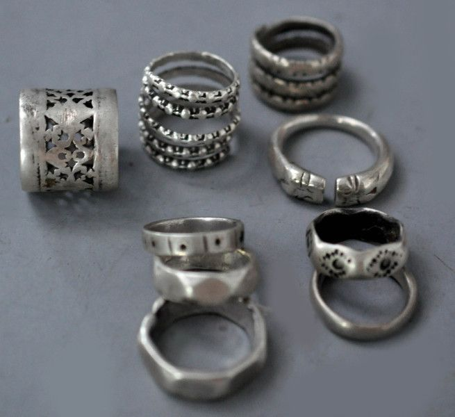 various rings stoppers