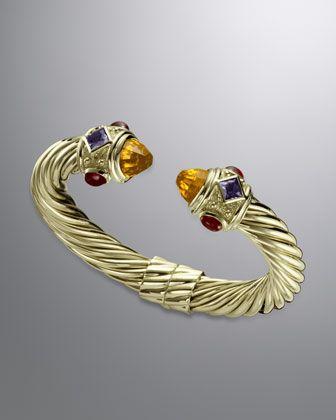 Renaissance Bracelet with Citrine by David Yurman