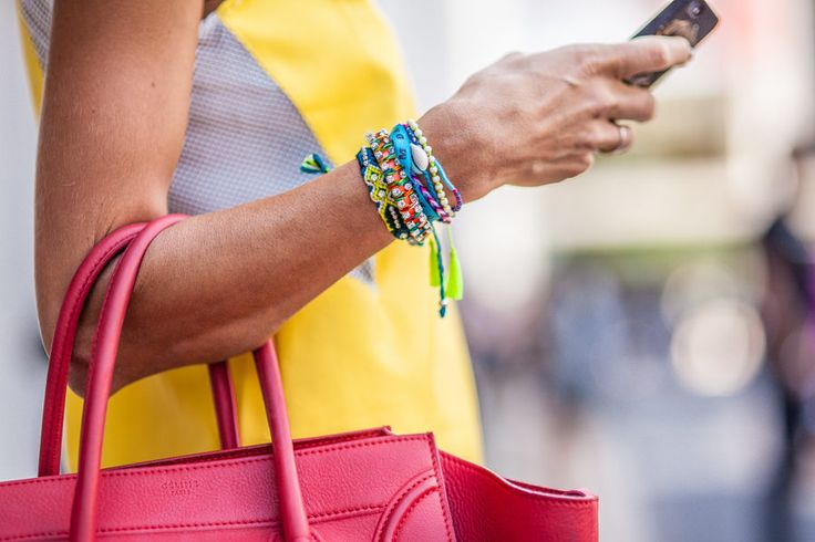 The Best Street Style From Day One of New York Fashion Week - NYFW Spring 2014 -...