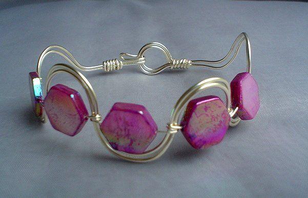 Wirework bracelet