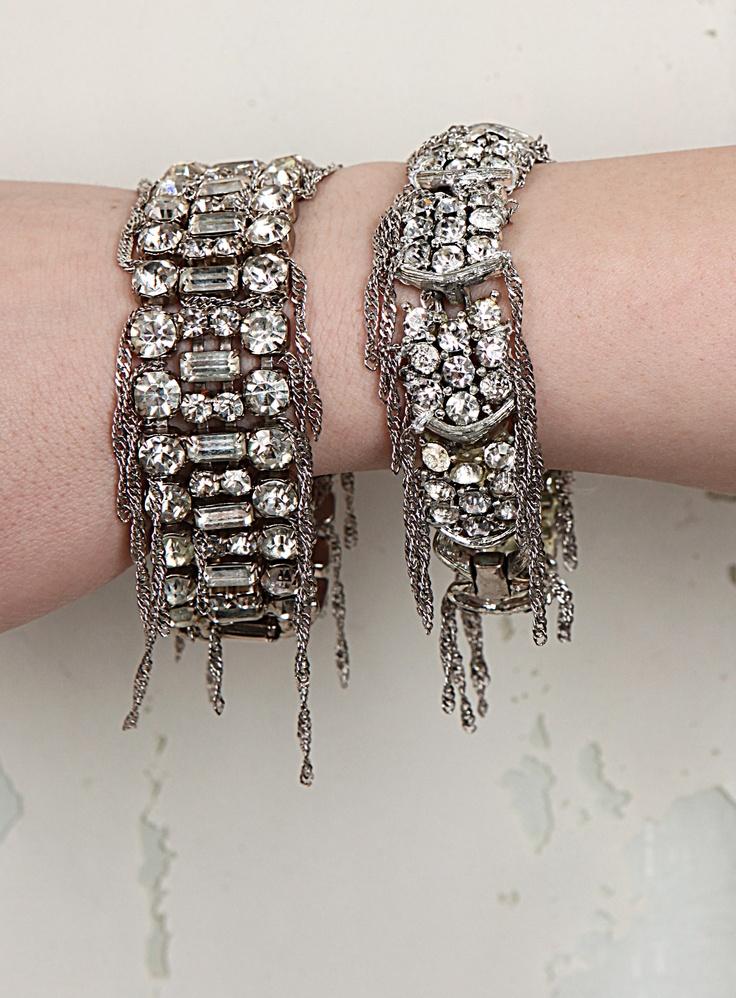 rhinestone bracelet from JW