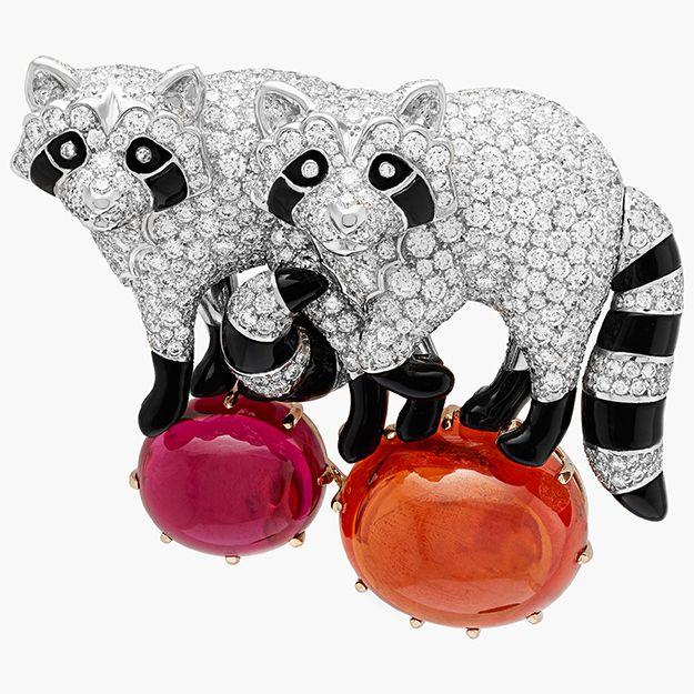 Объект желания: броши-животные Van Cleef & Arpels, Bur...