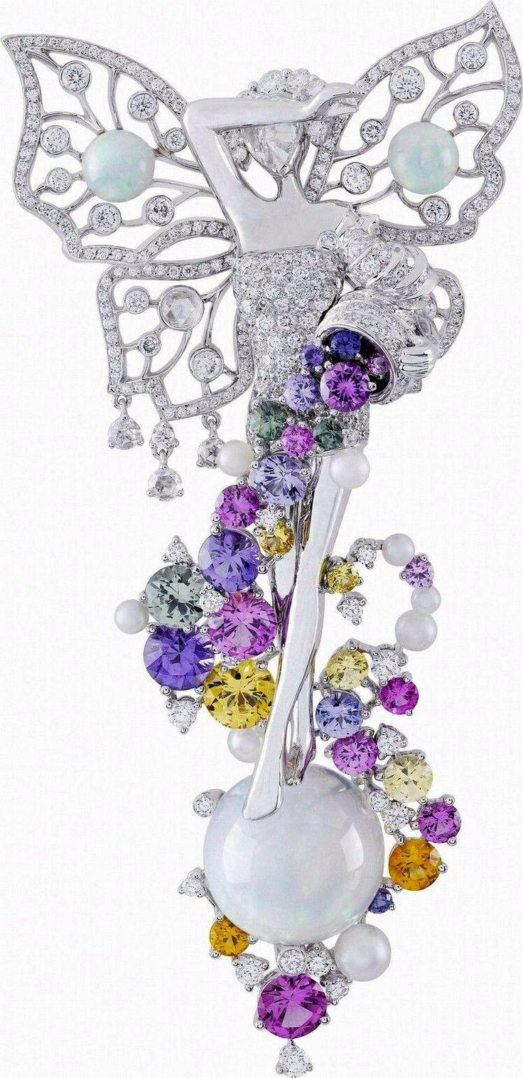 Palais de la Chance – Van Cleef & Arpels A beautiful Winged Fairy with Diamond...