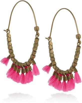 'The Who' brass hoop earrings by Isabel Marant.