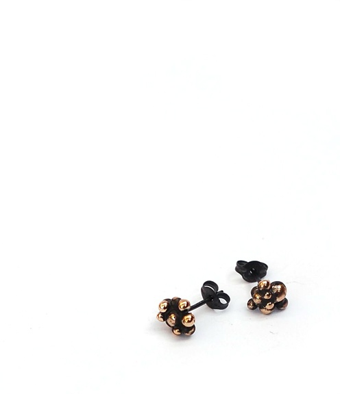 CLUSTRUM EARRINGS / Stone & Honey