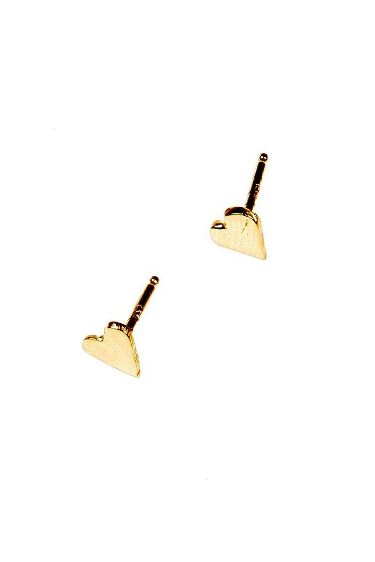 Shoptiques — Mini Heart Studs