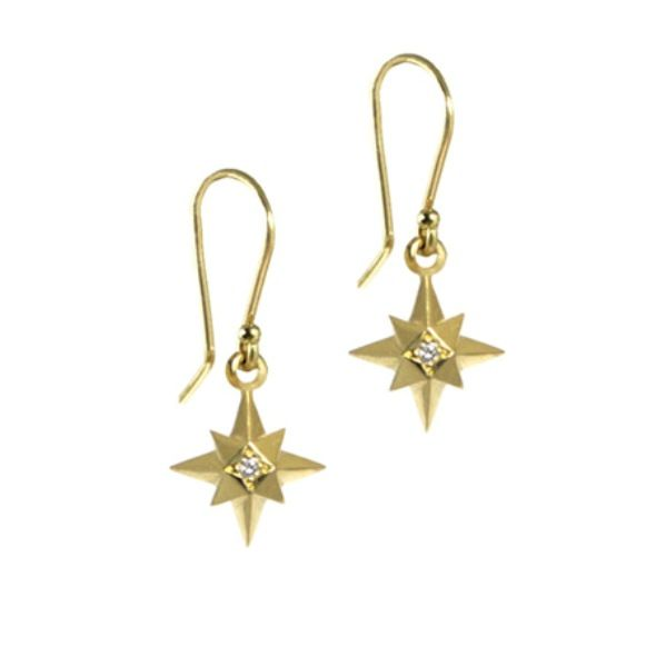 golden star earring Oria