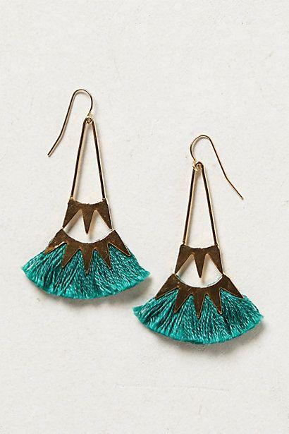 tufted ceri earrings