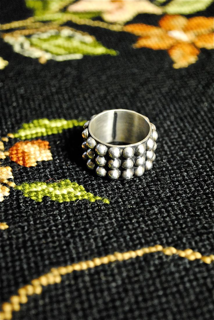 Mexican Vintage Sterling Silver Ring