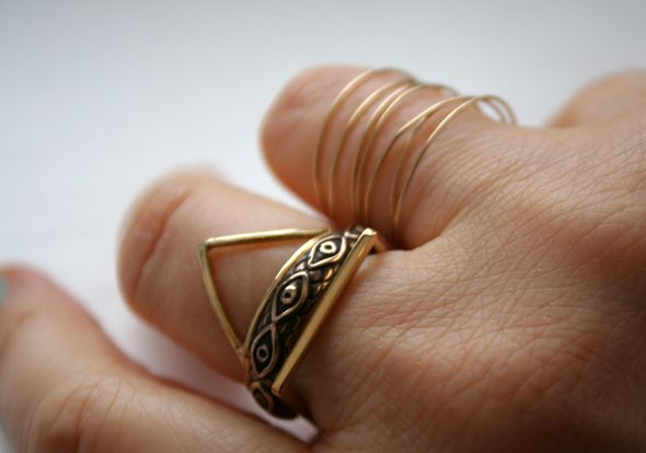 Pamela Love, Odette N.Y., By Boe, Lsonge and a vintage ring.