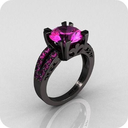 Pretty Ring!  (They call it a Unique Wedding Ring - Etsy:  Artmasters / Designer...