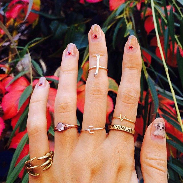 #verameat #jewelry + #nailart