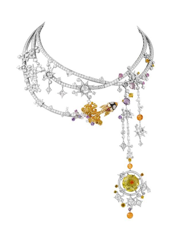 Van Cleef Arpels Tampa Necklace 'Out of this World, Jewelry in the Space Age...