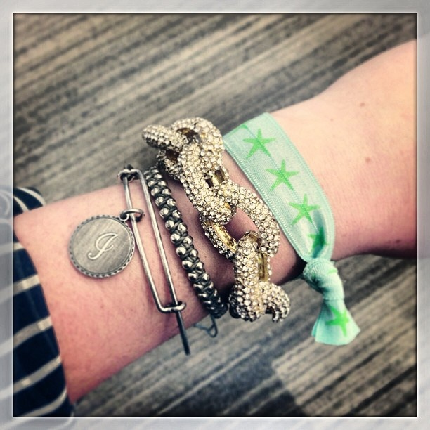 All week long we'll be sharing BB staffer arm candy around the office featur...