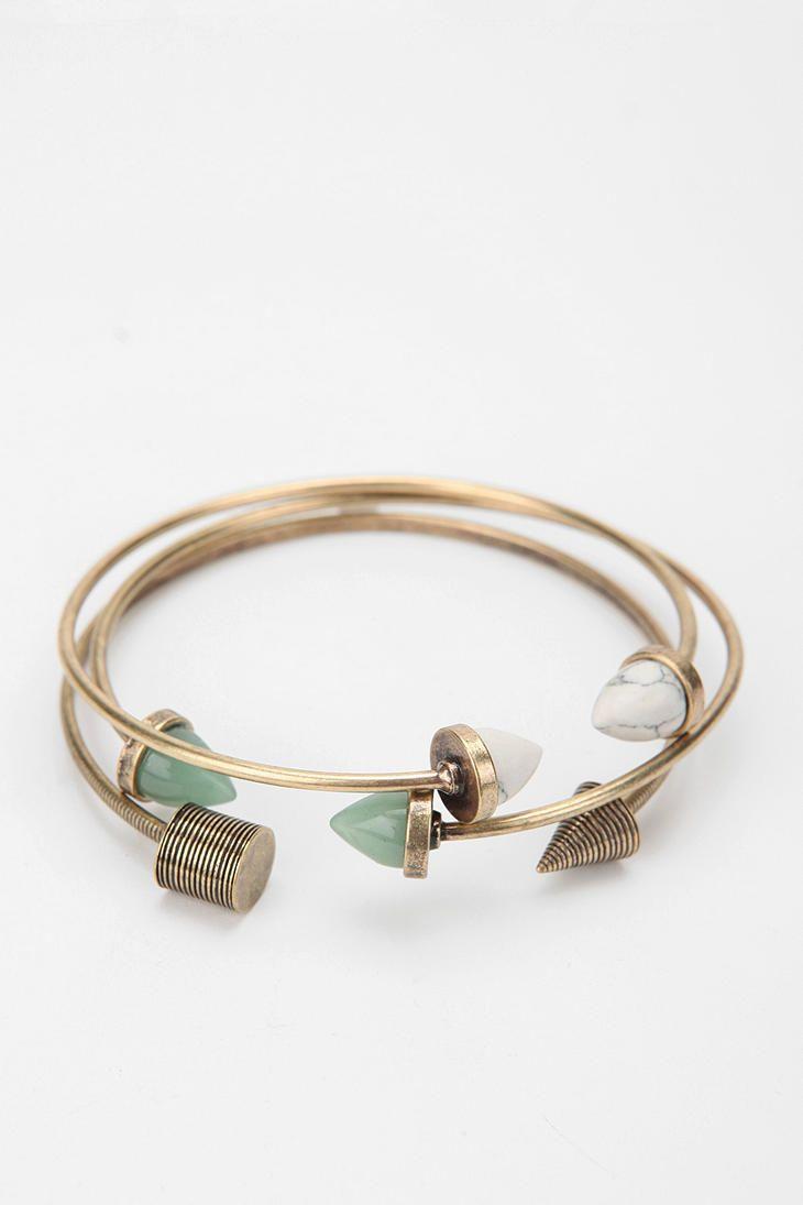 Archaeology Bangle Bracelets - Set of 3