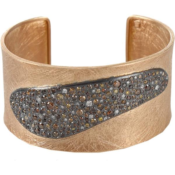 Autumn Brilliant Diamond Cuff