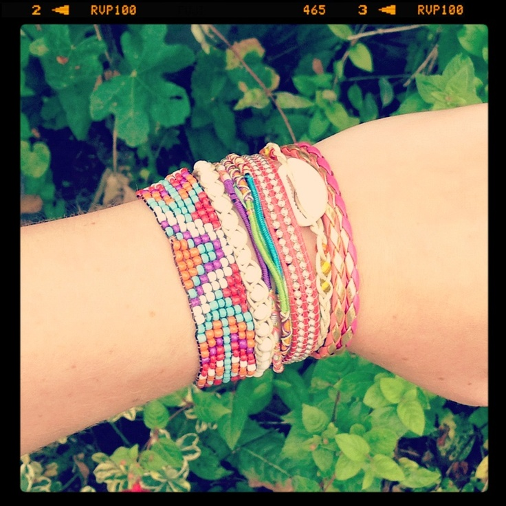 New In: Hipanema Multi Bracelet