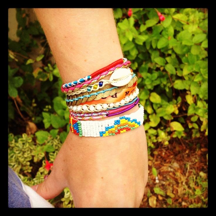 New In: Hipanema White Bracelet