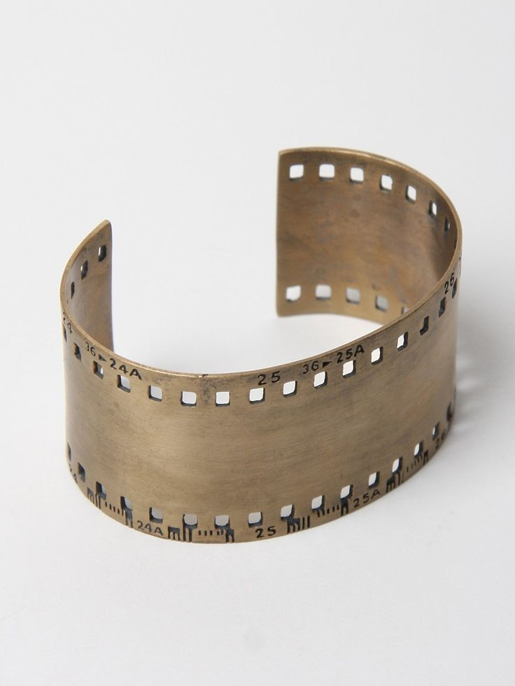 Toby Jones 35Mm Film Strip Cuff.