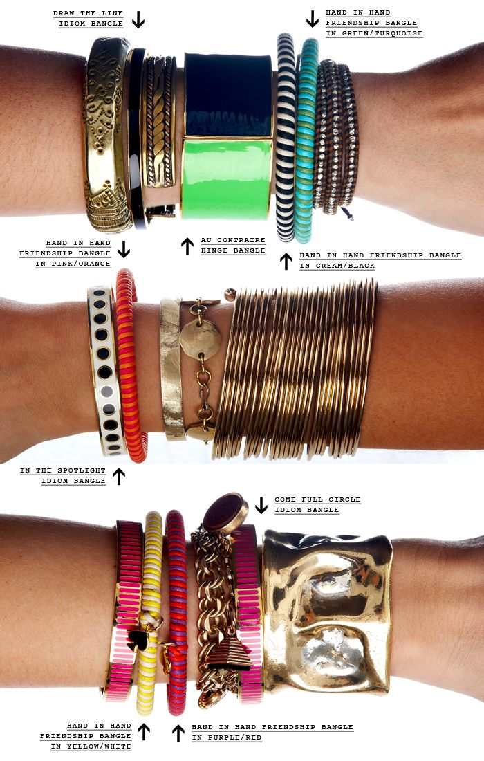 Bracelets Trends Dresscolorfully A Properly Stacked