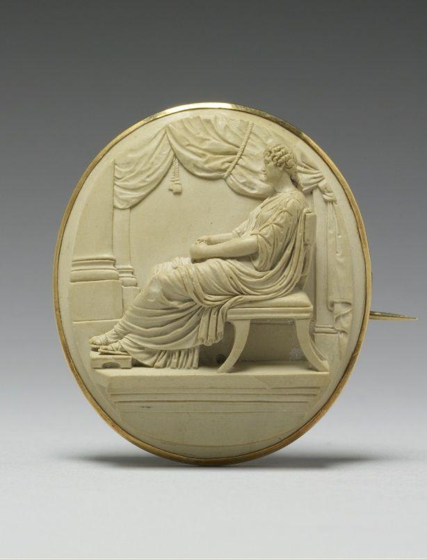Brooches Jewels A Venetian Neoclassical Lava Cameo