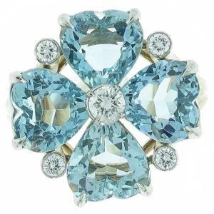 Cartier - Aquamarine diamond ring by natalie.natty.noyes