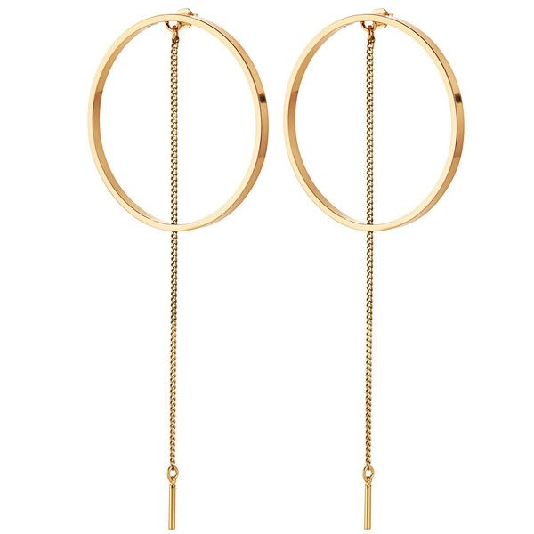 A single chain threads through, elevating the classic hoop.