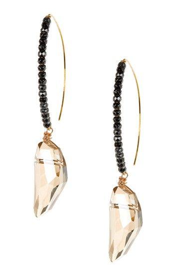 Dagger Drop Earrings on HauteLook