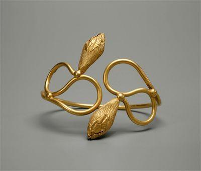 Bracelet, Ptolemaic period, Egyptian.