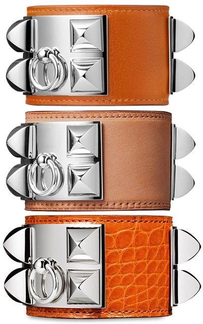 Hermes Collier De Chien Bracelets