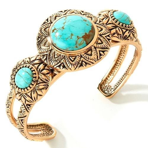 Studio Barse Turquoise Bronze 7