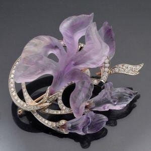 Faberge iris by hazel