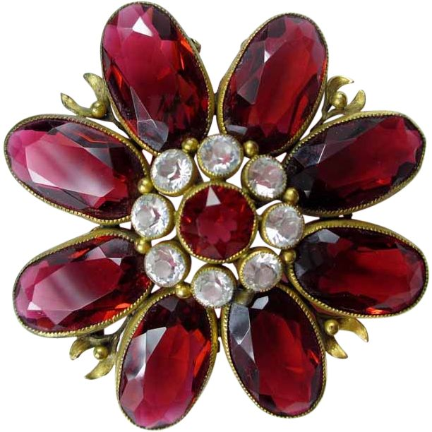 Gorgeous Joseff of Hollywood Brooch