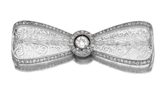 ROCK CRYSTAL AND DIAMOND BROOCH, CARTIER, CIRCA 1910 - Sotheby's