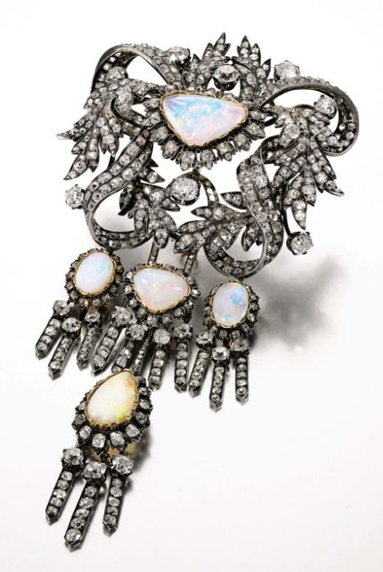 royal spanish opal corsage