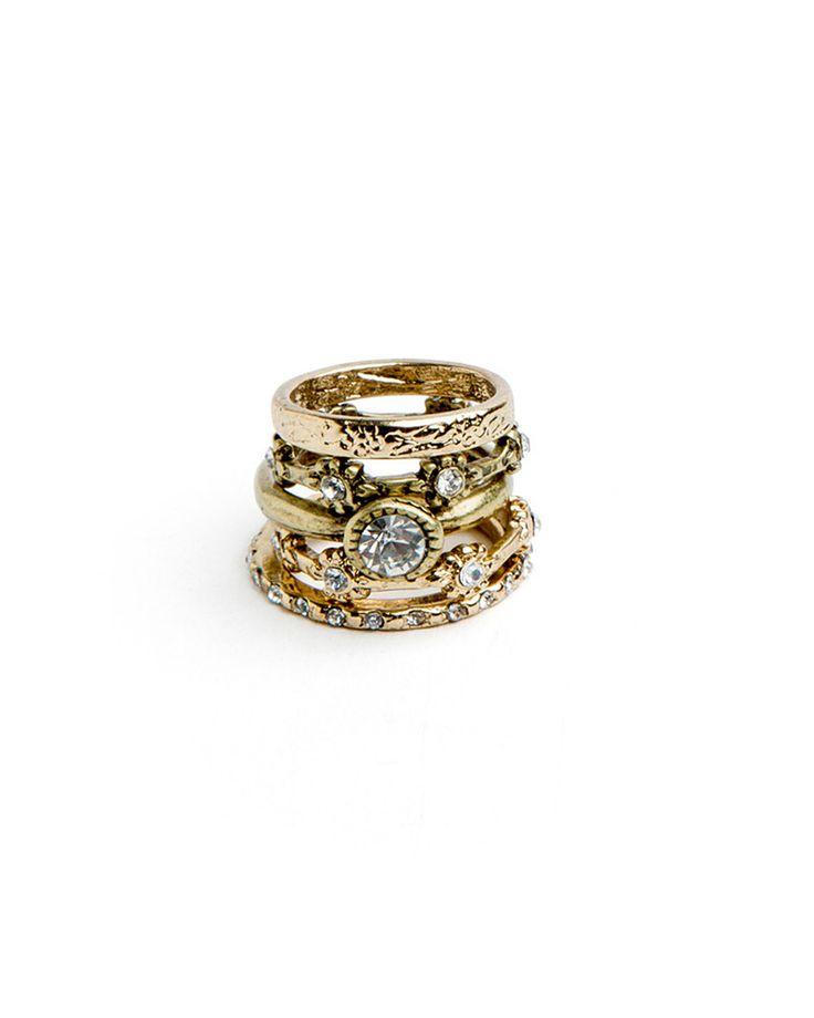 Darling Gem Rings - JewelMint