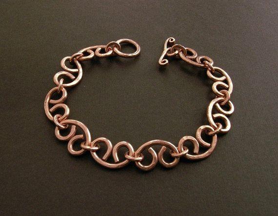 Copper chain bracelet woman bracelet metal bracelet copper