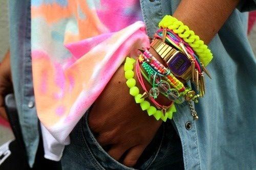 #accessories #trend #trendy #bracelets #pulseras #armcandy #armparty #strawberry...