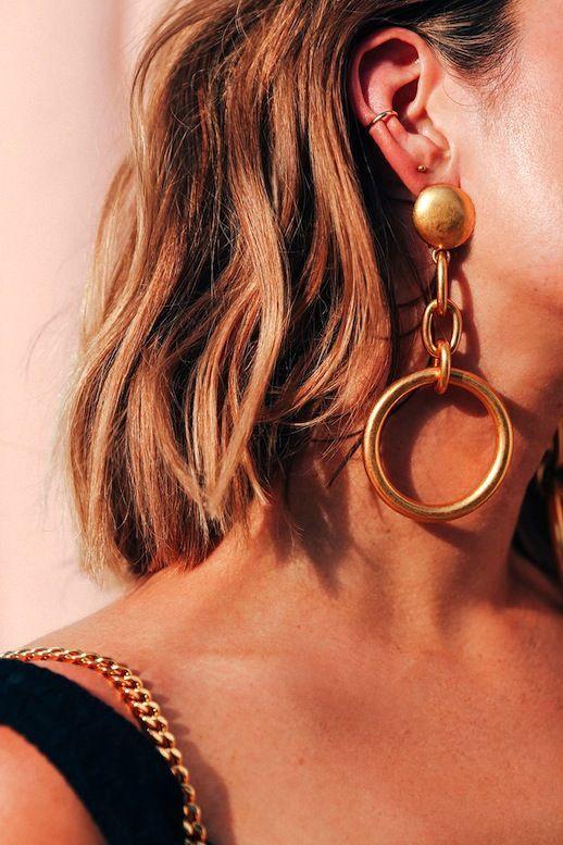 Golden earrings  | ♦F&I♦