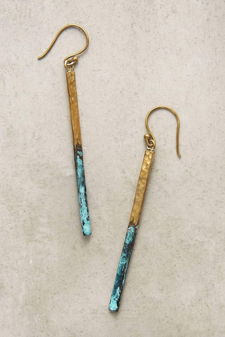 Shop the Linear Drop Earrings  |♦F&I♦