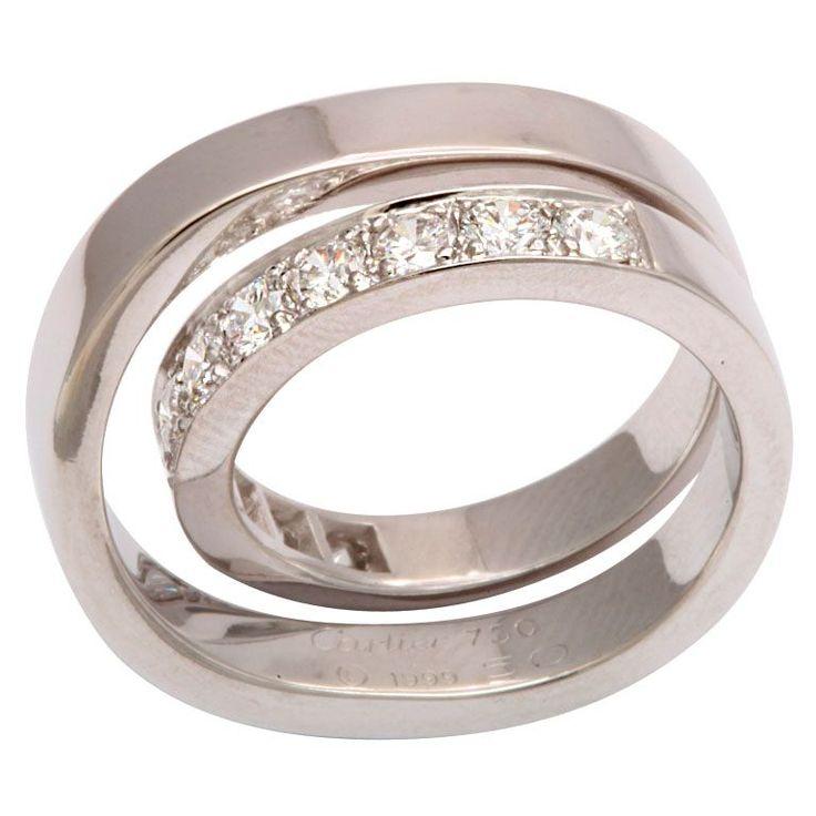 CARTIER PARIS Nouvelle Vague Diamond Ring