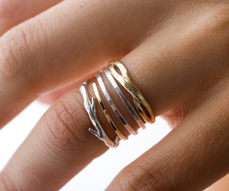 Twig Ring / colbyjune on etsy
