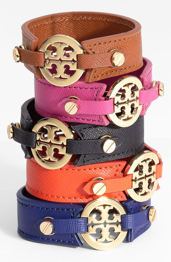Tory Burch wrap bracelet || wish*list || orange or navy