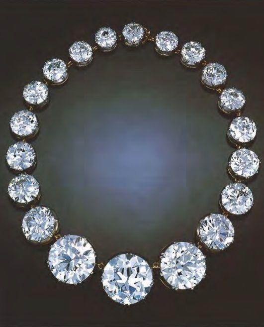 An Edwardian rivière | A rivière of diamonds immediately identified the wearer...