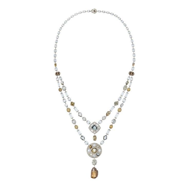 De Beers Talisman collection rough diamond necklace