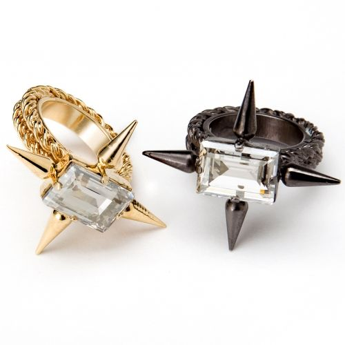 CLASSIQUE SPIKE RING from Fallon