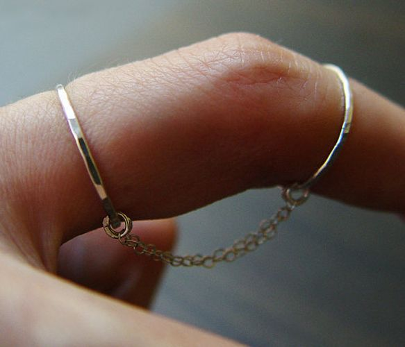 Double chain rings.