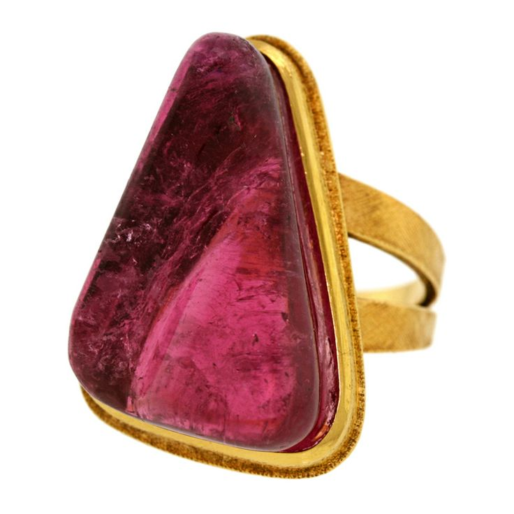 HARALDO BURLE MARX Post Modernist ring.The jewelry of renowned Brazilian archite...